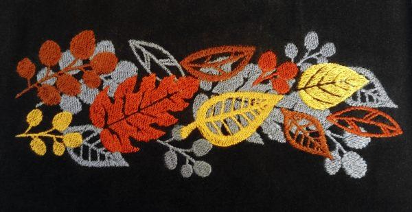 Дизайн для машинной вышивки Осень