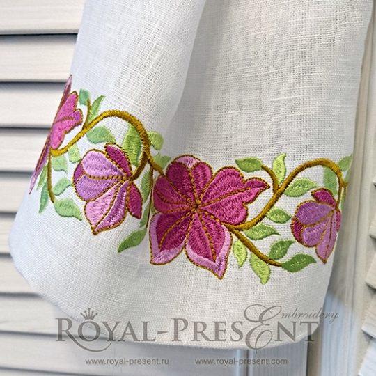 Дизайн машинной вышивки Свободный дух богемного шика