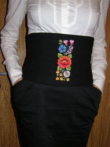 Дизайн машинной вышивки Эстонский фольклорный бордюр
