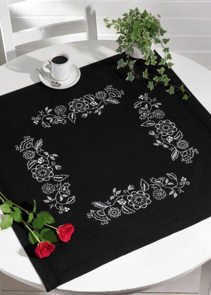 Дизайн машинной вышивки Орнамент с птичкой бесплатно