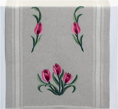 Дизайны для машинной вышивки Тюльпаны