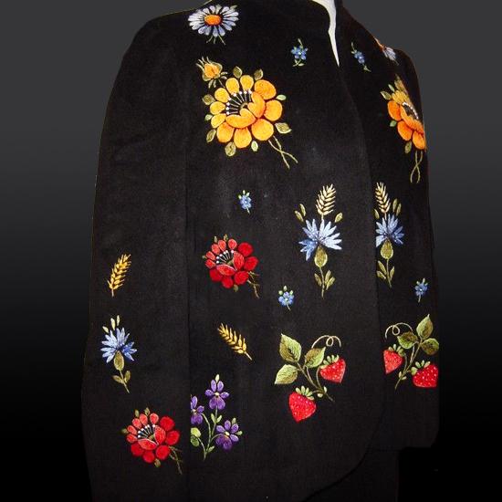 Набор из 9 дизайнов машинной вышивки Ягодки цветочки