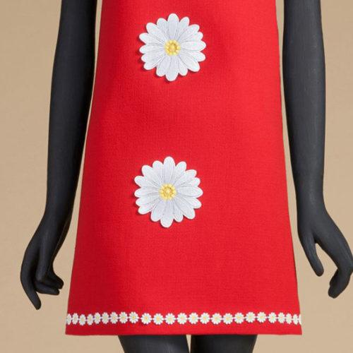Дизайн для машинной вышивки Ромашка