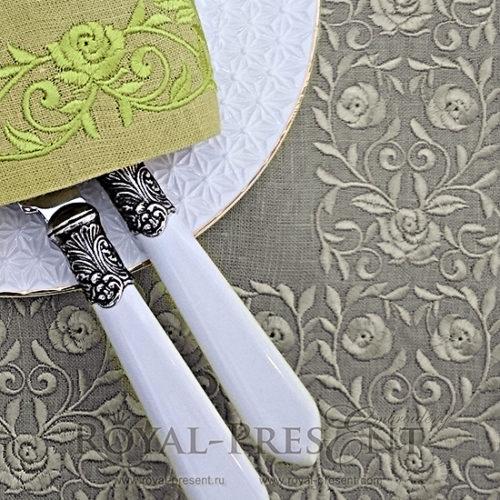 Дизайн машинной вышивки Винтажный цветочный бордюр