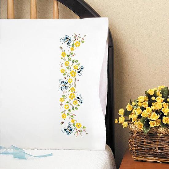 Дизайн для машинной вышивки Бабочки в саду
