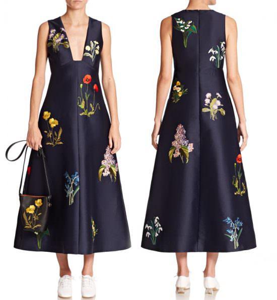 Набор дизайнов для машинной вышивки Цветы как у Stella McCartney