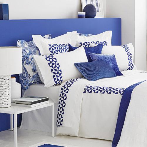 Дизайн машинной вышивки Синяя графика