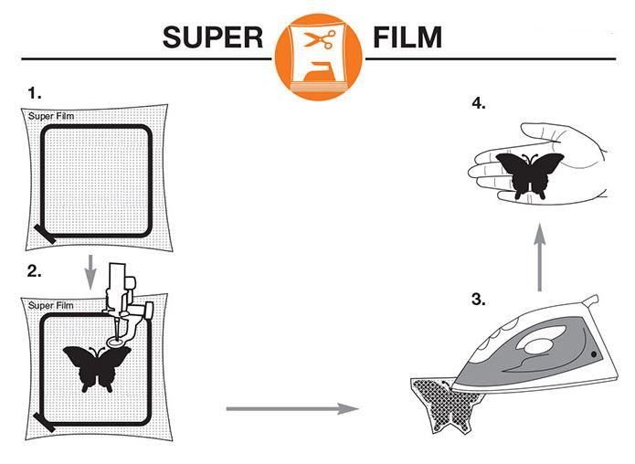 Super Film - специальный стабилизатор, который плавится при высоких температурах.