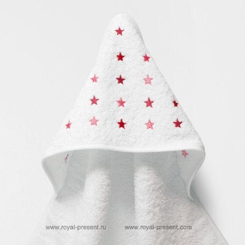 Бесплатный дизайн машинной вышивки Звезда