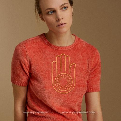 Дизайн для машинной вышивки Джайнизм