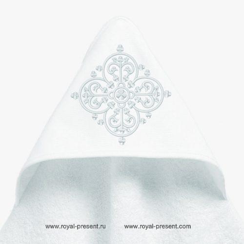 Узор для машинной вышивки арабеска