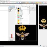 Нажать на Color Manager, чтобы открылось диалоговое окно с палитрой цветов
