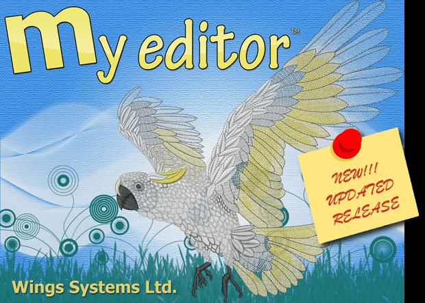Бесплатное программное обеспечение для вышивки My Editor
