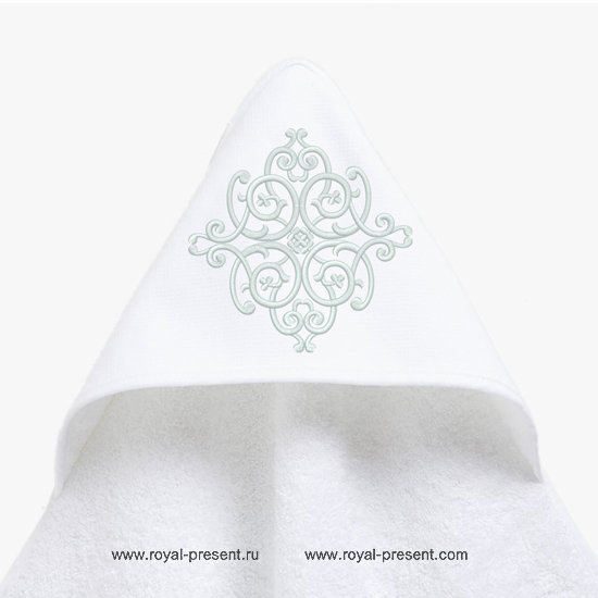 Дизайн машинной вышивки орнамент для уголка