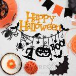 Дизайн машинной вышивки Гирлянда на Хэллоуин