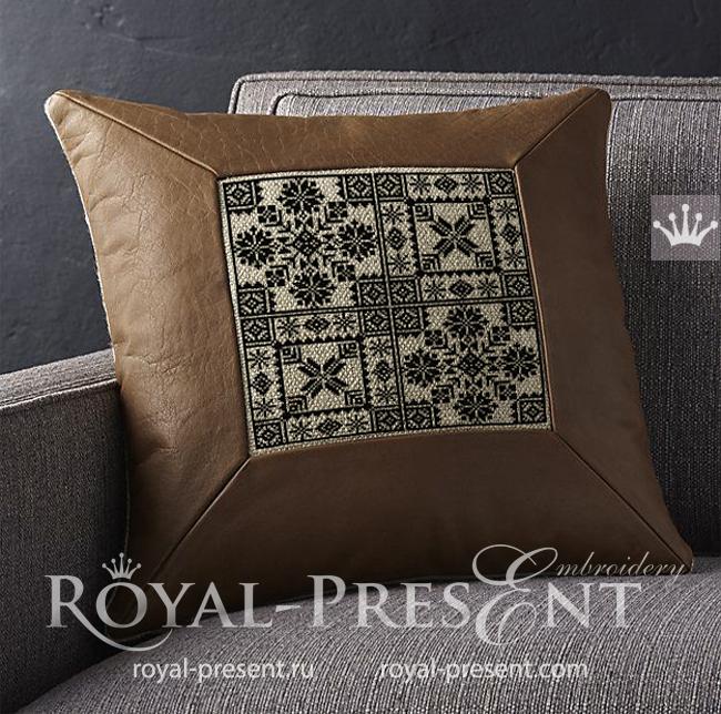 Дизайны машинной вышивки крестом Норвежские орнаменты