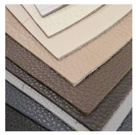 Для машинной вышивки на мягкой натуральной коже